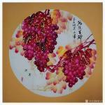 党文军日志-又一年葡萄成熟时《硕果累累》《鸿运呈祥》《秋曲》《秋实》《紫【图2】