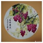 党文军日志-又一年葡萄成熟时《硕果累累》《鸿运呈祥》《秋曲》《秋实》《紫【图4】