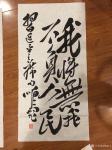 """周鹏飞日志-书写习近平主席语句:""""为构建人类命共同体而奋斗!""""""""我将无我【图2】"""