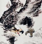 王贵烨日志-天马长鸣待驾驭、秋鹰整羽当云霄。中华雄鹰、凝重高远、意境深邃【图2】