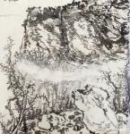 徐家康生活-和学生一起在林州太行山大峡谷王相岩写生……白天写生,晚上给学【图5】