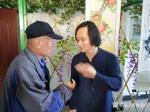 杨牧青日志-纪念五四青年节100周年书画交流会上,一位老先生临摹写兼创性【图3】
