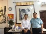 罗树辉生活-山东联赢拍卖有限公司总经理刘涛先生到我工作室雅聚。【图2】