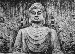 """马培童日志-""""与佛有缘,对话佛陀。""""马培童焦墨画感悟笔记(96) 只要【图1】"""