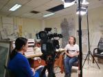 安士胜生活-天津电视台导视频道给做个小专访,趁这机会好好把画室的卫生做一【图1】