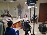 安士胜生活-天津电视台导视频道给做个小专访,趁这机会好好把画室的卫生做一【图3】