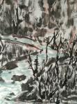 杨牧青日志-名称:黄土崖畔的记忆 规格:136cm×68cm/8平尺【图3】