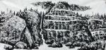 马培童日志-佛是一座山,山是一尊佛,远看是座山水画,近看是佛山。   【图1】