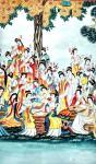 肖业炎日志-国画人物画作品《中国历代仕女百图》,10米长卷,肖业炎创作于【图4】