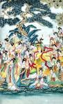 肖业炎日志-国画人物画作品《中国历代仕女百图》,10米长卷,肖业炎创作于【图5】