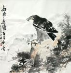 卢士杰日志-国画鹰系列作品《高瞻远瞩,百里秋毫》《志在千里》;   第【图1】