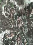 杨牧青日志-款识:古人无大色大彩之渍染,今人有宇宙星云幻化之奇观,借以渍【图3】
