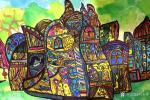 刘永铎藏宝-《热爱绘画的小姑娘》学生作品欣赏; 她那么的热爱画画, 【图1】