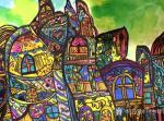 刘永铎藏宝-《热爱绘画的小姑娘》学生作品欣赏; 她那么的热爱画画, 【图2】