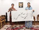 李尊荣藏宝-7月15日拜访吉尔吉斯共和国大使馆:   非常感谢吉尔吉斯【图3】