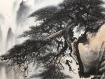 """罗树辉日志-国画山水新作《峽江煙雨》""""闲来听乐韵无穷,起而泼墨写春秋"""",【图5】"""
