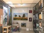 罗鸿羽日志-近日完成的风景油画订单:《世外秘境-金色沃土》《世外秘境-清【图5】