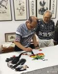 张近生藏宝-联袂创作国画《封候得寿图》,与潮汕88岁泰斗书画家胡天民先生【图4】
