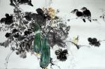 陈子华日志-国画花鸟画《秋思》《蕉荫图》,观秋景有感而创作;   第一【图2】