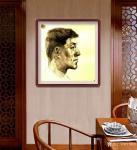 叶向阳日志-人物头像素描作品《我的战友》《保家卫国守边疆》;   第一【图4】