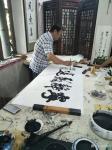徐如茂生活-国家一级美术师,著名画家杨阳先生一行行莅临巴蜀阆中,与本土画【图1】