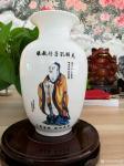 """罗建辉荣誉-收到景德镇陶瓷收藏证书,另图为景德镇烧制好的花瓶。 """"中国【图2】"""