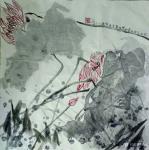 梁京日志-自然野逸写意荷花作品4幅请欣赏;  乙亥年十月梁京写于明楚【图3】
