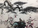 罗树辉藏宝-国画山水画《风和万物荣》乙亥秋月罗树辉 、朱明贵、金新宇、周【图2】