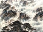 罗树辉日志-国画山水万里长城作品名称《雄风万里,龙腾神洲》;   按订【图3】