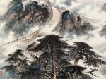 罗树辉日志-国画山水万里长城作品名称《雄风万里,龙腾神洲》;   按订【图4】
