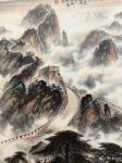 罗树辉日志-国画山水万里长城作品名称《雄风万里,龙腾神洲》;   按订【图5】