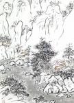 """龚光万日志-国画山水画冬景雪景瑞雪兆丰年, 取诗意""""飘飘千里雪,悠忽度【图4】"""