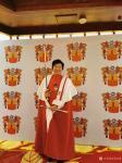 马培童荣誉-1月10日晚上阿尔巴尼亚前总统特邀马培童参加欢迎晚宴暨骑士勋【图1】