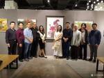 阎敏生活-1月11日上午《那些花儿》深圳20人画展在宝安体育馆茶悦世界【图5】