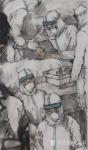 赵国毅日志-《伟哉 •钟南山》——赵国毅抗疫情作品欣赏 近日创作《伟哉【图2】