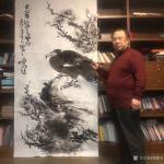 周鹏飞日志-纯水墨!才是高级艺术感的最好体现!用淡墨,写不淡的溪岸雅景!【图4】