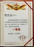 邢凤云荣誉-荣誉证书2020年全国抗疫艺术大展《华夏品牌艺术家推选榜一等【图1】