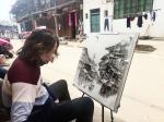 黄进藏宝-又到写生季节,我们的写生团队在安仁古镇锦江古镇写生。【图2】
