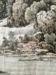 陈庆明日志-新创作的6尺国画山水画作品《春之韵》,愿祖国的江山春意盎然,【图3】