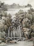 陈庆明日志-新创作的6尺国画山水画作品《春之韵》,愿祖国的江山春意盎然,【图4】