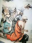 郭浩艺日志-郭浩艺国画人物画《十八罗汉》,局部图,作品尺寸丈六193CM【图4】