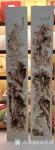 孙传海日志-客户定制烙画山水四条屏完工;分别命名为:《金顶山春色》《峡江【图3】