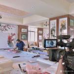 叶仲桥荣誉-8月26日上午接受云浮电视台采访录制节目,再次展示才华,体验【图5】