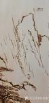 孙传海日志-烙画《黄山晓雲圖》创作进行中,作品尺寸2.88m×1.98m【图1】