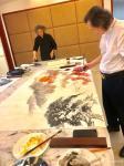 叶仲桥生活-9月19日广东朝朝酒业有限公司专门为我举办了一场书画交流、品【图4】