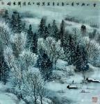 刘应雄日志-刘应雄中外风情画展作品选(欧洲瑞士系列): 《楚格的冬天》【图2】