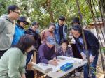 安士胜藏宝-天津市西青区文化馆野外采风;  从一片叶子开始,继续做着并【图2】