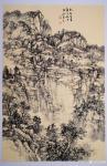 阎敏日志-太行山大峡谷写生作品欣赏,庚子年秋月阎敏写生系列作品。【图1】