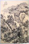 阎敏日志-太行山大峡谷写生作品欣赏,庚子年秋月阎敏写生系列作品。【图3】