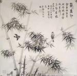 高志刚日志-国画花鸟画创作作品《节节高升》 【規格】:四尺整紙138x【图1】
